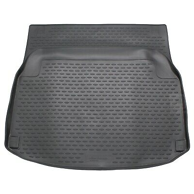 Mercedes C Class 11-16 Coupe Boot Liner Rubber Tailored Mat Protector Fitted