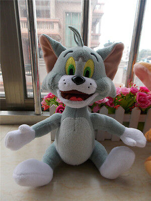 "New Collectibles Tom and Jerry "" TOM"" Cat Plush Toys Cartoon"