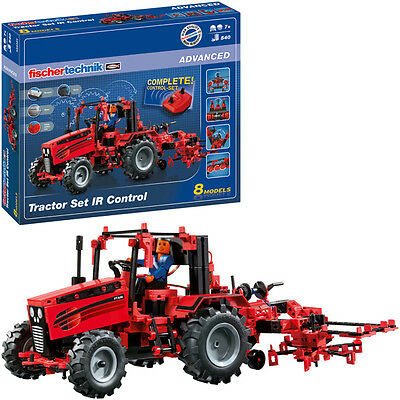 Fischer Technik Fischertechnik Advanced Tractor Set IR Control