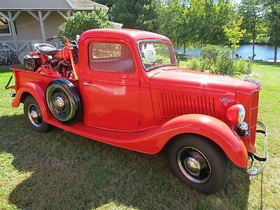 Ford : Other Delux OLD 1936 Ford Pick Up Truck