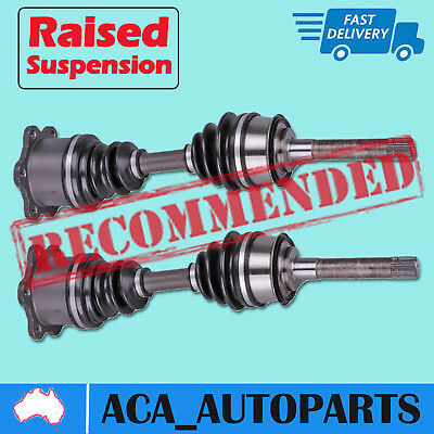 2 x Toyota Hilux IFS 4x4 Axle CV Joint Shaft Surf 4Runner 88-05 Front Extended