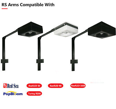 Brackets for DSunY LED Aquarium Light, mount on top of the tank, Crystal stable
