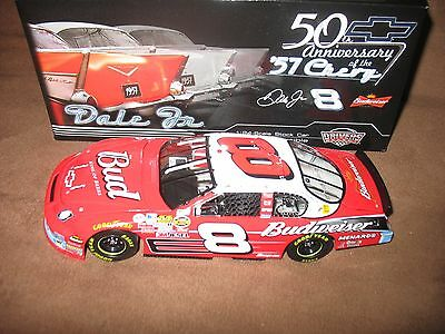 "DALE EARNHARDT JR. #8 2007 CHEVROLET MONTE CARLO SS BUDWEISER / 57 CHEVY ""50th"""
