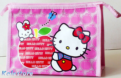 New Hello Kitty Baby Pink Game Pad Pencil / Cosmetic Bag