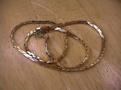 """20"""" 14KT GOLD PLATED NECKLACE!!"""