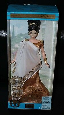 2003 Dolls of the World DOTW Princess of Ancient Greece Barbie NRFB