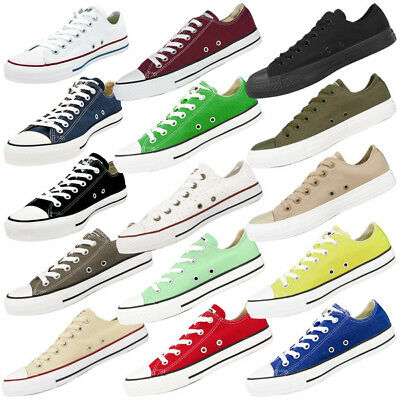 Converse Chuck Taylor All Star Ox Schuhe Klassiker Chucks Low Sneaker Basic