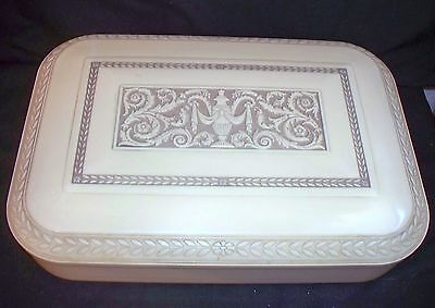 1940's Marshall White Co Cameo Urn Lovely Silver Flatware Storage Chest/Case