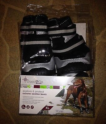 Good2Go Explore & Protect Dog Extreme Winter Boots Size Small Med Large or XL