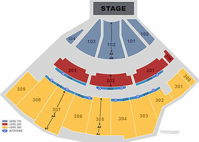 2 Tickets Jimmy Buffett, The Wharf AMP, Orange Beach, Alabama, April 24 Sec 303