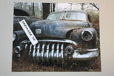 1950 BUICK SPECIAL 8X10 JUNKYARD COLOR PHOTO PICTURE ART HEAVY METAL