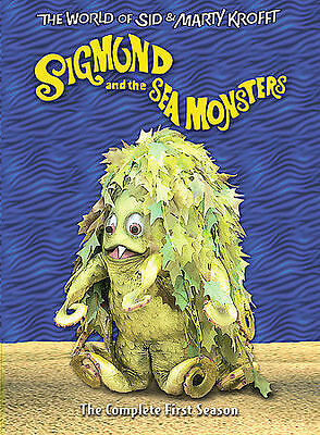 Sigmund and the Sea Monsters Season 1 DVD, 2005 3-Disc Set world of sid & marty