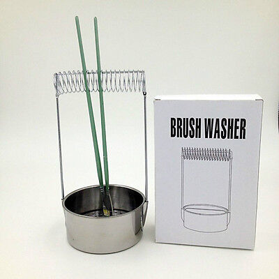 Portable Artist Brush Washer, Paint Brush Cleaner with Screen