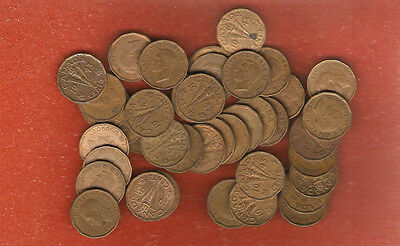 Roll of 40 1943 Tombac Five Cent Coins (all nice coins no culls)