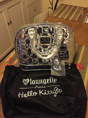 Hello Kitty Con Exclusive Loungefly Silver Purse / Bag - #146 of 200 Made