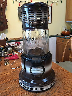 Perfection Heater, Glass Complete Classic Vintage Antique Old