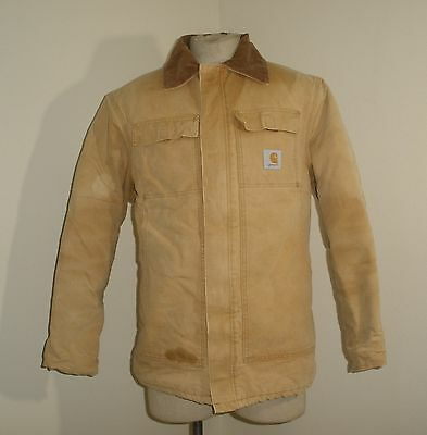 CARHARTT CQ186 C03 QUILT lined CHORE TRADITIONAL ARTIC Jacket coat USA MADE L
