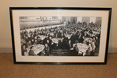 Framed Picture of TWA First Transportation Conference 1944