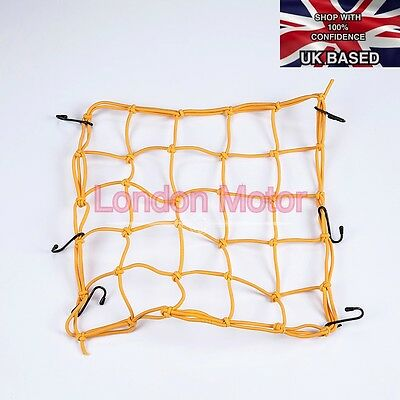 Premium Quality Motorcycle Bike Cargo Elastic Net Baggage Carrier 6 Hooks E101-Y