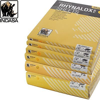 Indasa Rhynalox Plusline Production Different Grit/Quantity Options Sand Paper