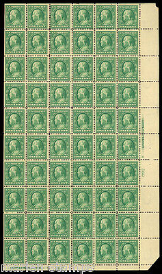 United States  Sheet Of 60 Sc#374  Mint Nh