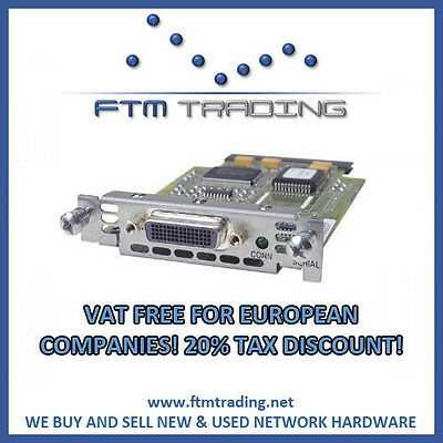 Cisco WIC-1T Serial WAN Module REFURBISHED for 1700 2600 1841 2800 3800 router