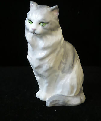 F.G. Doughty Fine Bone China Royal Worcester Cat Figurine