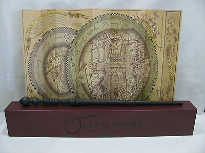 Wizarding World of Harry Potter Ollivanders Interactive Wand Ash 3 with Map
