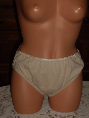 VINTAGE AVENUE BODY FRENCH CUT PANTIES SIZE 14-16 COLOR NUDE NWOT