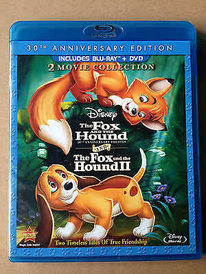 The Fox and the Hound / Fox and the Hound II 3Disc Combo Pack Blu-ray 2DVD NTSC