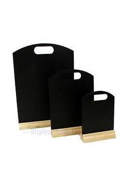 A4 A5 A3 Tabletop Menu Chalk board Blackboard & Stand  Restaurant Menu Display