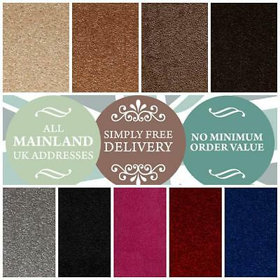 Quality Cheap Carpet. Hardwearing Twist. Spend £50 For FREE GIFT. Ebays Cheapest