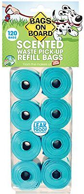 Bags On Board Scented Refill Rolls  Pack of 120