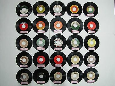 70's DISCO FUNK, NORTHERN SOUL R&B DANCE Lot 25 of 45 rpm Jukebox Records LISTED