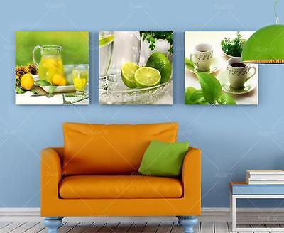 Oil Painti Wall Canvas Art Fruits Kitchen Painting Printing On Canvas(No Frame)