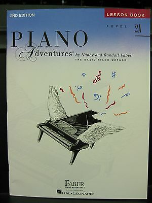NEW & In Stock: Faber & Faber PIANO ADVENTURES Lesson Book ~ Level 2A