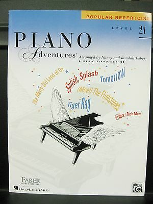 NEW & In Stock: Faber Piano Adventures ~ POPULAR REPERTOIRE ~ Level 2A