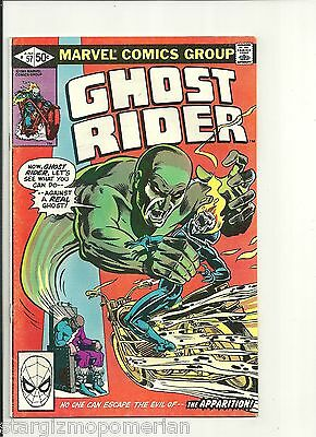 GHOST RIDER # 57 - THE EVIL OF THE APPARITION ! * VF+ * COMBINE SHIPPING
