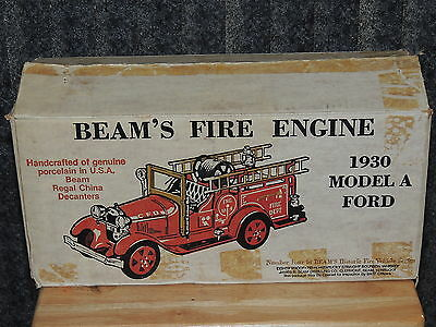 Jim Beam 1930 Model A Ford Fire Engine NEW IN THE BOX