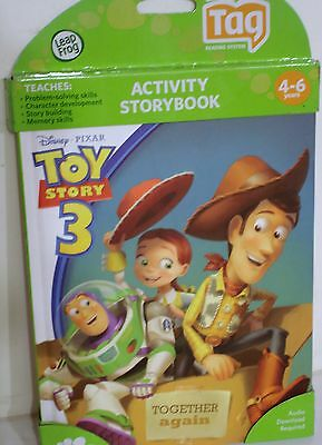 LEAP FROG TAG TOY STORY 3 ACTIVITY STORYBOOK