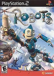 Robots  (Sony PlayStation 2, 2005) Complete