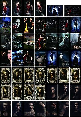 """Mini TV Poster (48 pieces/set) - The Vampire Diaries Part 1-4, 6""""x8.5"""" for each"""