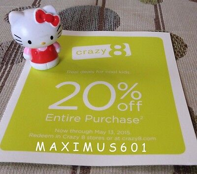 Crazy 8 20% Off Entire Purchase Expires 5/13/15