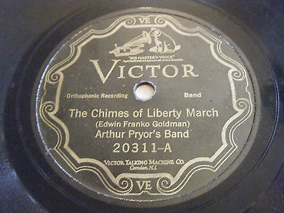 ARTHUR PRYOR'S BAND 78 Chimes of Liberty March / Sagamore March 1926 Victor