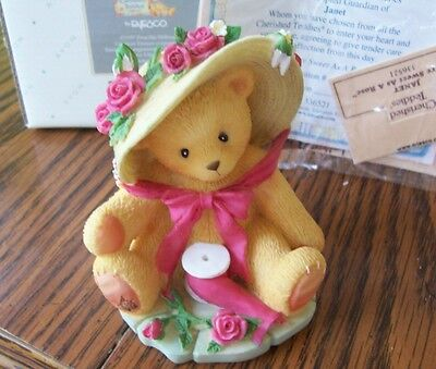 Cherished Teddies Avon Exclusivet 1st Edition Janet NIB