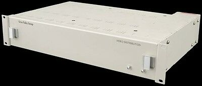 Grass Valley Group 8500/8800 Series Video Distribution Unit +10x Cards +2x PSU