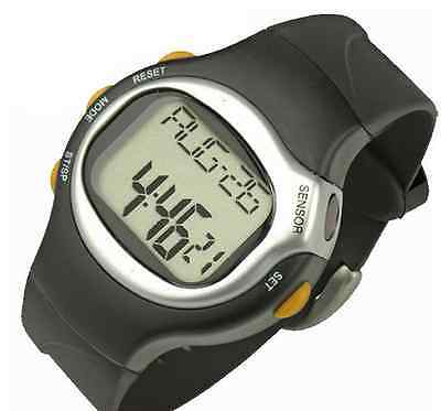Pulse Heart Rate Monitors Calories Counter Fitness Wrist Watch Time Calendar US