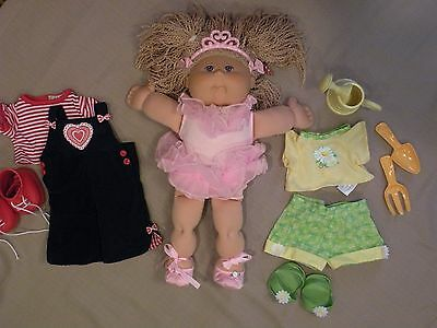 Cabbage Patch Doll 2004 Ballet Gardening & Overall CPK RARE Xavier Roberts EUC