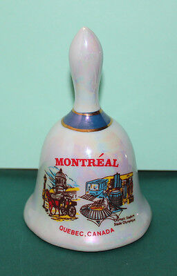 Montreal Quebec Canada Bell 4 inches tall 2.5 inches wide base Olympic Stadium N