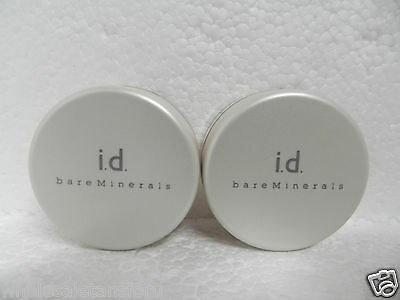 2 LOT BARE MINERALS ESCENTUALS ID NATURAL LIGHT FACE LIFTING DUO WELL & BACK LIT